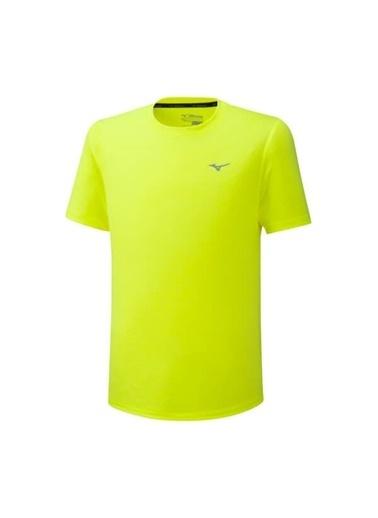 Mizuno ımpulse Core Tee Erkek T-Shirt Sarı Sarı